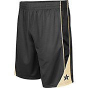 Colosseum Men's Vanderbilt Commodores Grey Turn Over Shorts