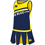 Colosseum Athletics Toddler Girls' Michigan Wolverines Blue Curling Cheer Set