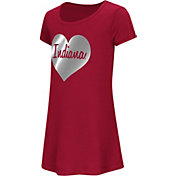 Colosseum Athletics Toddler Girls' Indiana Hoosiers Crimson Croquet Dress