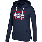 CCM Women's Columbus Blue Jackets Bottom Stripe Navy Pullover Hoodie