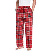 Concepts Sport Men's UNLV Rebels Scarlet/Black Huddle Sleep Pants