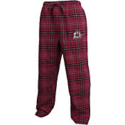 Concepts Sport Men's New Mexico State Aggies Crimson/Black Huddle Sleep Pants