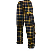 Concepts Sport Men's Toledo Rockets Midnight Blue/Gold Huddle Sleep Pants