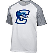 Champion Men's Creighton Bluejays White Big Logo T-Shirt
