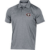 Champion Men's Georgia Bulldogs Grey Classic Polo
