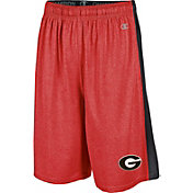 Champion Men's Georgia Bulldogs Red Training Shorts