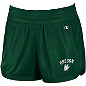 Champion Women's Oregon Ducks Green Endurance Performance Shorts