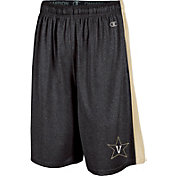 Champion Men's Vanderbilt Commodores Black Training Shorts