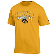 Champion Men's Iowa Hawkeyes Gold Performance Tee