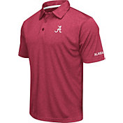 Colosseum Men's Alabama Crimson Tide Crimson Axis Polo