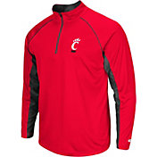 Colosseum Men's Cincinnati Bearcats Green Airstream Quarter-Zip Windshirt