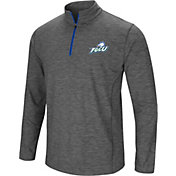 Colosseum Men's Florida Gulf Coast Eagles Grey Action Pass Quarter-Zip Shirt