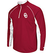Colosseum Men's Oklahoma Sooners Crimson Airstream Quarter-Zip