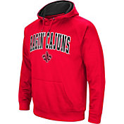 Colosseum Men's Louisiana-Lafayette Ragin' Cajuns Red Fleece Hoodie