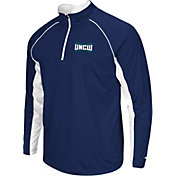 Colosseum Men's UNC-Wilmington  Seahawks Blue Airstream Quarter-Zip