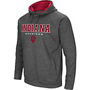 Colosseum Men's Indiana Hoosiers Grey Fleece Hoodie