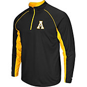 Colosseum Men's Appalachian State Mountaineers Black Airstream Quarter-Zip