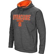 Colosseum Athletics Men's Syracuse Orange Grey Fleece Hoodie