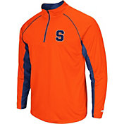 Colosseum Men's Syracuse Orange Orange Airstream Quarter-Zip Windshirt