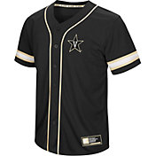 Colosseum Men's Vanderbilt Commodores Play Ball Baseball Black Jersey