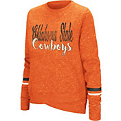 Colosseum Women's Oklahoma State Cowboys Orange Birdie Fleece Pullover