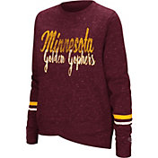Colosseum Women's Minnesota Golden Gophers Maroon Birdie Fleece Pullover