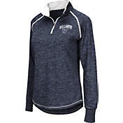 Colosseum Women's Villanova Wildcats Navy Bikram Quarter-Zip Top