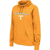 Colosseum Women's Tennessee Volunteers Tennessee Orange Funnel Neck Fleece Pullover
