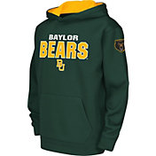 Colosseum Youth Baylor Bears Green Fleece Hoodie