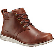 Columbia Men's Irvington Leather Waterproof Chukka Boots
