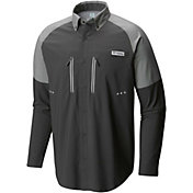 Columbia Men's PFG Solar Shade Zero Woven Long Sleeve Shirt