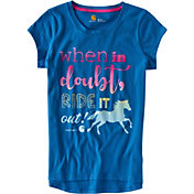 Carhartt Little Girls' When in Doubt T-Shirt