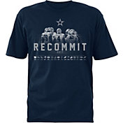Dallas Cowboys Merchandising Men's Schedule Navy T-Shirt