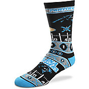 For Bare Feet Carolina Panthers Superfan Crew Socks