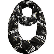 Forever Collectibles Pittsburgh Penguins Logo Infinity Scarf