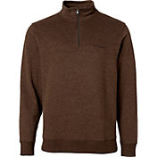 Field & Stream Men's Cotton Quarter Zip Fleece Pullover