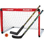 Franklin Sports NHL Goal and Stick Set
