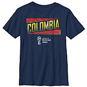 Fifth Sun Youth FIFA 2018 World Cup Russia Colombia Slanted Navy T-Shirt