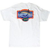 Guy Harvey Men's Florida Gators Master's White T-Shirt