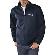 G-III Men's New England Patriots Audible Navy Full-Zip Jacket