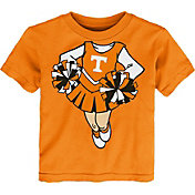 Gen2 Toddler Girls' Tennessee Volunteers Tennessee Orange Cheerleader Dreams T-Shirt