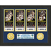 Highland Mint 2017 NBA Finals Champions Golden State Warriors Ticket Collection