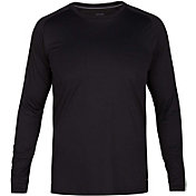 Hurley Men's Icon Long Sleeve Rash Guard