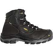 KEEN Men's Leavenworth 6'' Internal Met Steel Toe Work Boots