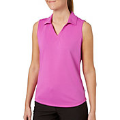 Lady Hagen Women's Essentials Sleeveless Golf Polo – Plus Size
