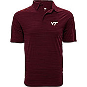 Levelwear Men's Virginia Tech Hokies Maroon Sway Polo