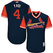 Majestic Men's Authentic St. Louis Cardinals Yadier Molina 'Yadi' MLB Players Weekend Jersey