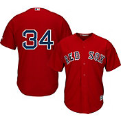 Majestic Men's Replica Boston Red Sox David Ortiz #34 Cool Base Alternate Red Jersey