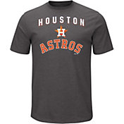 Majestic Men's Houston Astros Stoked Grey T-Shirt