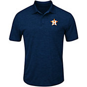 Majestic Men's Houston Astros Cool Base Navy Polo
